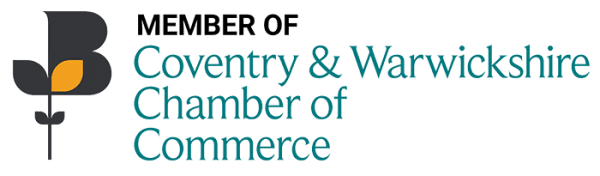 Member of Coventry & Warwickshire Chamber of Commerce