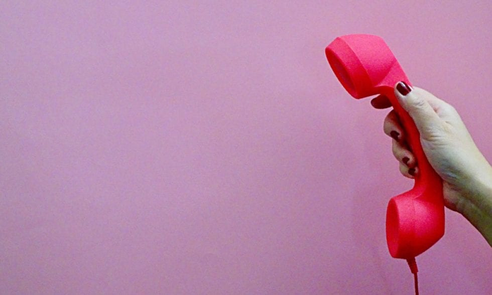 Pick up the telephone to make more sales