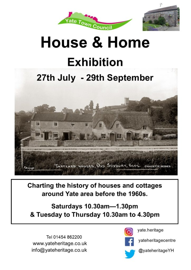 Poster - House and Home 27th July to 29th September