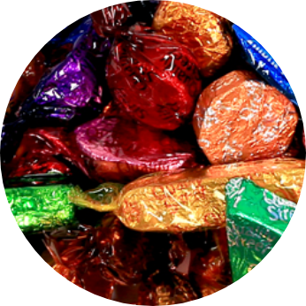 Totally Varied. Quality Street in Promo Gift Tubes.