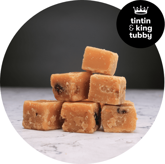 Cherry Bakewell Fudge from Warwick and Regal
