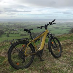 Riese and Muller electric bike test ride