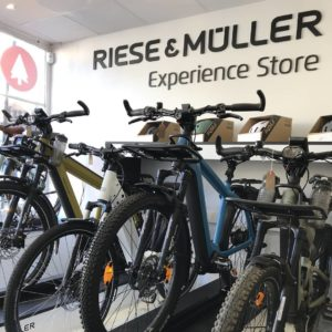 EDEMO's Riese & Muller Experience Store